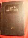 Agenda Petrolistului -Foraj si Extractie - Ed. Tehnica 1955 - tabele date tehnice