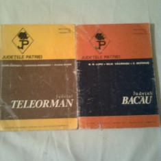 JUDETELE PATRIEI ~ 2 volume ~ JUDETUL TELEORMAN + JUDETUL BACAU - Carte Geografie