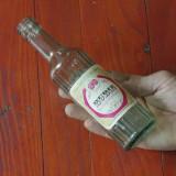 Sticla din perioada comunista - eticheta originala - Rubin - Lichior de Zmeura !!!