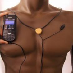 OFERTA!!! CASTI cu MAGNET pe timpan fara fire si microvibratie, sistem de casca - Handsfree GSM