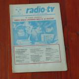 Ziar Radio Tv - anul XXVII nr 38 saptamana 13 - 19 septembrie 1981 !!!
