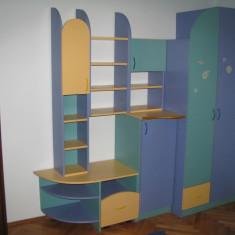 Mobila pentru camera de copii. Stare foarte buna - Set mobila copii