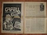Nr.1 din revista  ORION  aparuta in decembrie  1988 , 32pg. doua fascicole