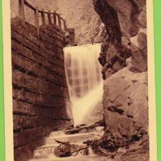 Valea Vinului Borberek Izvorul bailor, cascada 1941 Bistrita Nasaud - Carte Postala Transilvania dupa 1918