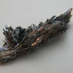 Specimen minerale - STIBINA CU BOULANGERIT - Fosila roca