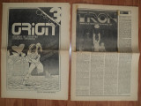 revista  ORION nr.3 aparuta in iulie 1989 , formata din  doua fascicole,32 pg.