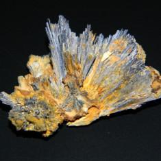 Specimen minerale - STIBINA CU LIMONIT