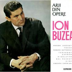 Puccini_Bizet_Verdi_Ion Buzea - Arii Din Opere_Manon Lescaut_Tosca_Madame Butterfly_Turandot_Carmen_Aida_Bal Mascat (Vinyl) - Muzica Opera electrecord, VINIL