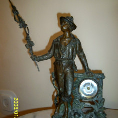 Ceas Junghans statueta pastor anii 20-30