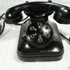 TELEFON VECHI - EBONITA NEAGRA - MODEL SPECIAL - 6 BUTOANE