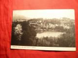 Ilustrata Sovata - Cazinoul Bailor -Lac Ursu -Ed. Nic.D.Cusi ,interbelica