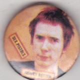 Insigna  Sex Pistols - Johnny Rotten