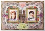 BELIZE 1986 - REGALITATE 1 S/S, NEOBLITERATA - D005B