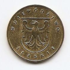 Polonia 2 Zloti 2004 Voivodatele Poloniei: Slaskie KM-493 UNC !!!, Europa