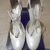 Pantofi Bej Perlat CONDUR nr.37