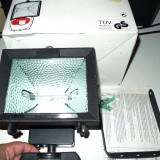 Vand proiector cu senzor infrarosu HVL bec halogen 500 W