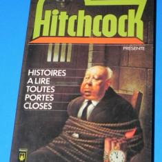HITCHCOCK PRESENTE HISTOIRES A LIRE TOUTES PORTES CLOSES - ASIMOV, STURGEON, ALLAN DEAN FOSTER(00688 - Carte Horror
