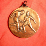 Medalie Fotbal, bronz, d= 3, 7 cm - Medalii Romania