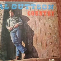 Al guttson muzica country disc vinyl lp made in yugoslavia stare foarte buna, VINIL