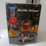 Deosebita cana pentru incalzit ceaiul si nu numai, cana fierbinte, provenienta Germania, stare perfecta, cadoul ideal !