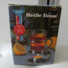 Deosebita cana pentru incalzit ceaiul si nu numai,cana fierbinte, provenienta Germania, stare perfecta, cadoul ideal !