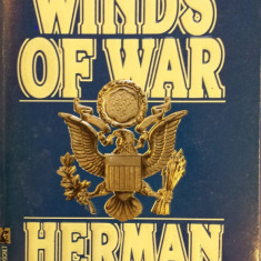 WINDS OF WAR - Herman Wouk (carte in limba engleza) - Carte in engleza