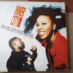 Inner city Do You Love What You Feel Electronic Techno Garage House maxi single 1989 - Muzica House, VINIL