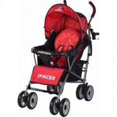Carucior Sport Spacer red - Carucior copii 2 in 1 Caretero