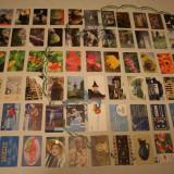 Lot 100 cartele romanesti diferite, modele interesante