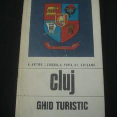 A. ANTON - CLUJ * GHID TURISTIC * CU HARTA