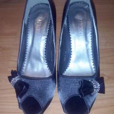 Pantofi dama Afrodita - Pantof dama, Culoare: Negru, Marime: 38