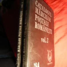 Catalogul Marcilor Postale Romanesti- Ed.1984 ,2 vol.