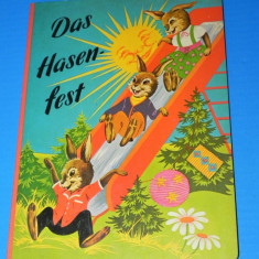 DAS HASEN-FEST. Carte pentru copii, text in limba germana, ilustrata superb (00837 - Carte de povesti