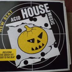 Acid House Music New Beat disc vinyl lp 1988 editie vest muzica acid house - Muzica House, VINIL