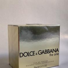 Dolce Gabbana The One Eau De Parfum-dama, 75 ml - Replica calitatea A ++ - Parfum femeie Dolce & Gabbana, Apa de parfum