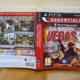 Tom Clancy's Rainbow Six: Vegas 2 Complete Edition Essentials  (PS3) (ALVio) + sute de alte jocuri ps3 ( VAND SCHIMB )