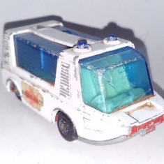 Macheta MATCHBOX - AMBULANTA (deteriorata), Lesney 1971 - Macheta auto