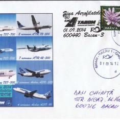 Plic special Ziua Aerofilateliei 2014, 60 de ani TAROM