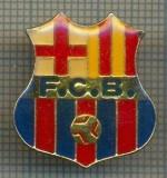 1014 INSIGNA FOTBAL -F.C.B. -F.C. BARCELONA -starea ce se vede.