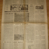 Ziar , Tineretul Liber  - 25 Aprilie 1990