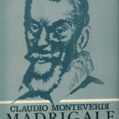 CLAUDIO MONTEVERDI - MADRIGALE -CORUL DE CAMERA CAPPELLA TRANYLVANICA CA NOU - Muzica Corala, VINIL