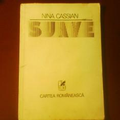 Nina Cassian Suave, editie princeps, Alta editura