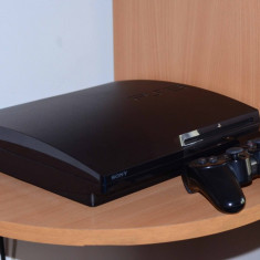 Ps3 Slim-250Gb-15 jocuri - PlayStation 3 Sony