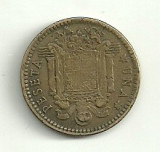 SPANIA 1 PESETA 1963 [3], Europa