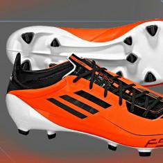 Ghete profesionale adidas f50 adizero - Ghete fotbal, 43 1/3, Orange, Barbati