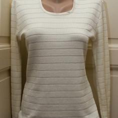 Bluza tricotata ivoire, marimea L