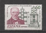 Spania.1996 Ziua marcii postale-150 ani telegraful optic  EB.276