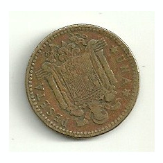 SPANIA 1 PESETA 1953 [3], Europa