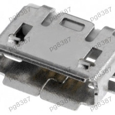 Conector micro USB AB, SMT, contacte nichelate, ECE ESB2271101-004373