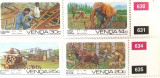 VENDA 1986 - MESERII 4 VALORI, NEOBLITERATE - AS 121